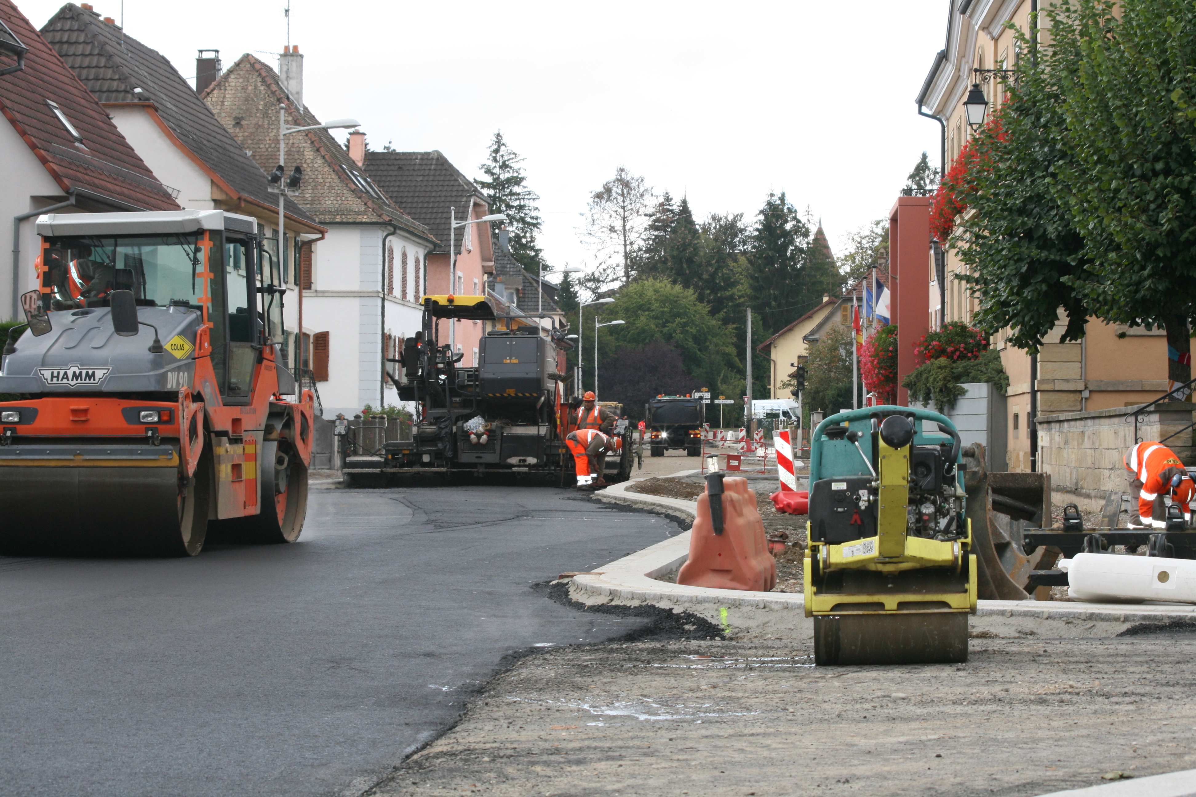 Travaux 24 septembre RD25 - 2
